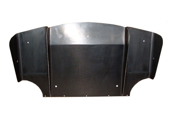 Elise S2 111s rear c/fibre diffuser, no exhaust hole! (3 c/tunnel rear fixing holes) - R01SB0039