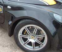 Lotus Exige S2 GRP Front Wheel Arch Kit Pair (Internal Flange)