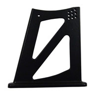 Universal Rear Wing 12mm Alloy Support Mount for Reverie Wings - Black