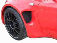 Lotus Elise S2 GRP Front Wheel Arch Kit (External Flange) + 40mm
