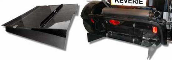 Lotus 340R carbon rear diffuser long length - R01SB0341
