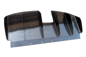 Lotus Evora Standard Carbon Fibre Rear Diffuser - 5 Element