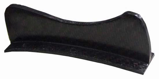 Carbon Fibre Lower Drop Tab Bracket for 310mm Chord Low Drag Wing.