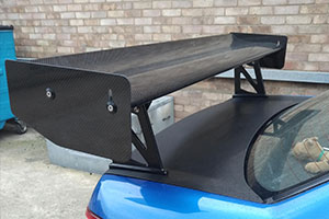 Subaru Impreza (00 - 07) 2nd Generation GD, GG Carbon Fibre Rear Wing Kit