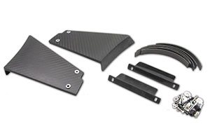 Lotus Elise/Exige S2 Rear Wing Internal Clam Mounting Kit only