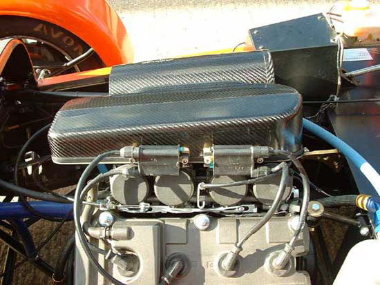 Fireblade induction kit (non-ducted), carbon - R01SE0190