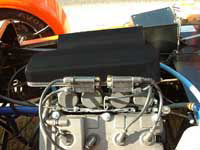 Caterham FireBlade GRP Air Induction Kit - Non-Ducted