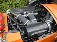 Caterham 7 Blackbird Carbon Fibre Air Induction Kit - Reverie Blister