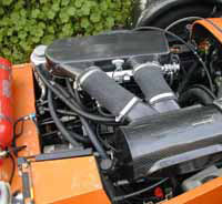 Caterham 7 Blackbird Carbon Fibre Air Induction Kit - Reverie Mondello