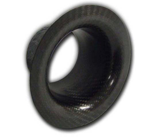 100mm straight high-flow carbon intake trumpet - R01SE0388