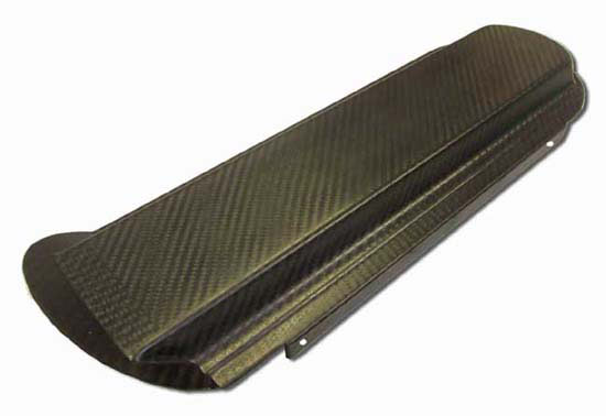 Reverie Silverstone Carbon Fibre Air Box 20mm Fuel Rail Backplate RH - R01SE0397