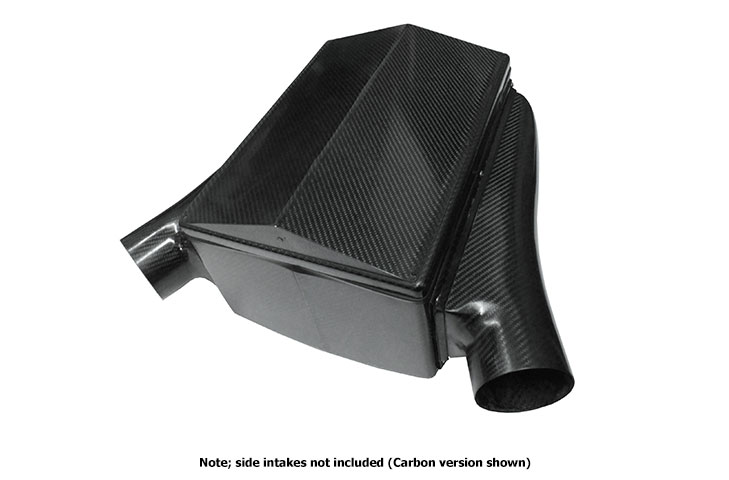 Hockenheim 405 V6/V8 air box, GRP, 405l*305h*200d mm, approx 0.69mm thick, With 15' bank angle base box, kit - R01SE0559