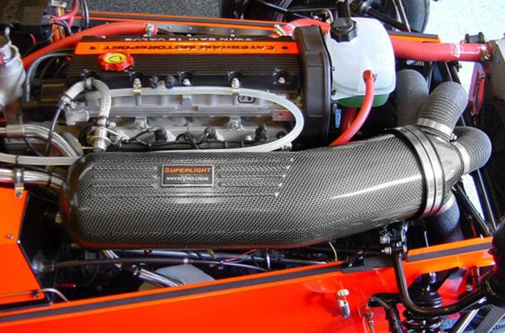Caterham 7 R300/R400/R500 Air Box Induction Kit (K-Series Engine) - R01SE0698