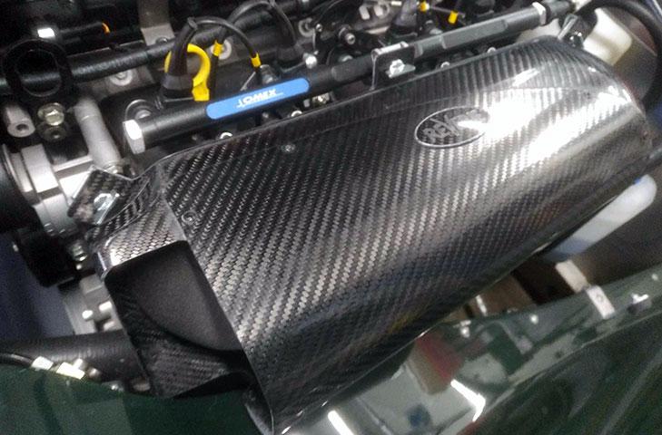 Morgan Plus 4 (05 - ) 2.0L Duratec Supersports Carbon Fibre Zolder Air Box Induction Kit (Omex) - R01SE0699