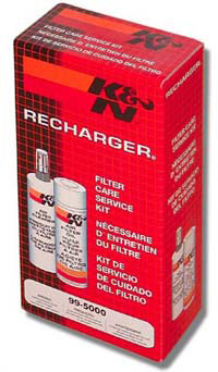 K&N 99-5000 Filter Care Service Kit - Cleaner + Oil