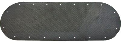 Reverie Fontana Non-Boosted Plenum Blank Backplate - 2mm Carbon Fibre