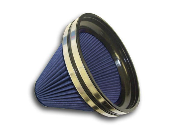 Race Cone Conical Air Filter - 206mm Dia x L235mm, Long Version