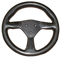 Eclipse 280 Carbon Steering Wheel - 3-Stud Drilled
