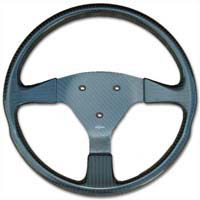 Rally 330 Carbon Steering Wheel - 3-Stud Drilled, Untrimmed