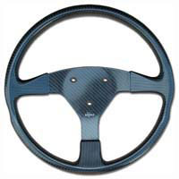 Rally 350 Carbon Steering Wheel - 3-Stud Drilled, Untrimmed