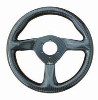 Eclipse 255 Carbon Steering Wheel - MOMO/Sparco/OMP Drilled