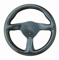 Eclipse 255 steering wheel, 3-stud 50.8mm pcd centre.