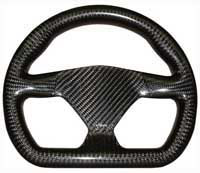 Eclipse 270 Flat-Bottomed Carbon Steering Wheel - Undrilled