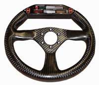 Eclipse 280 Carbon Steering Wheel - MOMO/Sparco/OMP Drilled, Farringdon Display