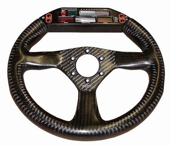 Eclipse 280 Carbon Steering Wheel - MOMO/Sparco/OMP Drilled, Farringdon Display - R01SH0058