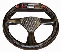 Eclipse 280 carbon steering wheel 3-stud 50.8mm drilling for farringdon / electronic dash
