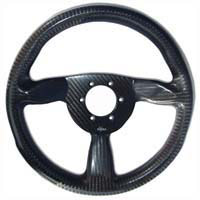 Eclipse 315 Carbon Steering Wheel - Nardi/Personal Drilled, Untrimmed, Offset