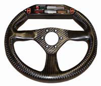 Eclipse 280 carbon steering wheel nardi/personal drilling for farringdon / electronic dash