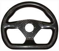 Eclipse 270 flat bottom carbon steering wheel nardi/personal drilling