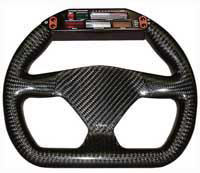 Eclipse 270 Flat-Bottomed Carbon Steering Wheel - Undrilled, Farringdon Display