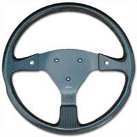 Rally 350 Carbon Steering Wheel - 3-Stud Drilled, Untrimmed, 2 Button