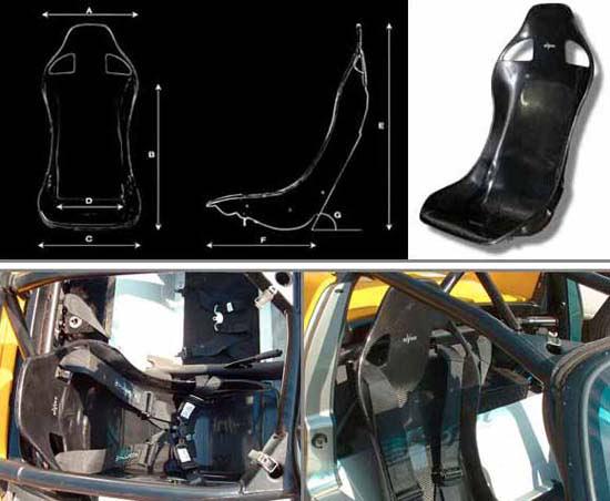 Tvr Tuscan Bucket Seats Amp Subframes