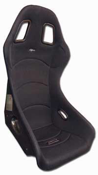 Reverie XR C Carbon Fibre Seat (W) - Twin Skin, FIA Spacer Fabric Trimmed, Non-Head Restraint