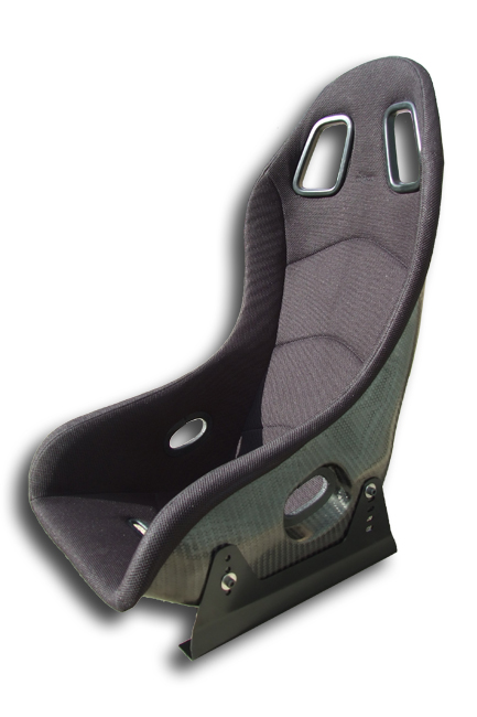 Reverie Super Sports Carbon Fibre Seat - Twin Skin, FIA Fabric Trimmed, NON FIA