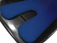 Reverie Seat Cushion Kit (Narrow) - FIA Spacer Fabric: Blue