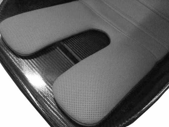 Mulsanne X Amp Xr Narrow Seat Cushion Grey Fia Spacer