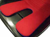 Reverie Seat Cushion Kit (Narrow) - FIA Spacer Fabric: Red