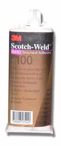 3M Scotch-Weld DP100 EPX Epoxy Adhesive - 50ml Clear
