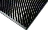 Carbon Fibre Sheet 2.0mm 1220mm x 250mm - Double Gloss