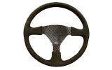 Racing steering wheel, Trimmed Undrilled