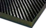 Carbon Foam Sandwich Panels
