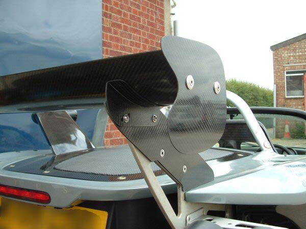 Rear Wing Supports + Adapter Plates