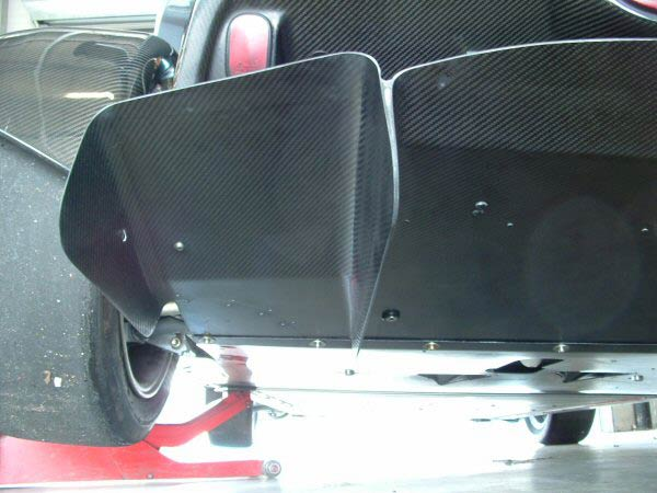 Rear Diffuser and Floor Sections