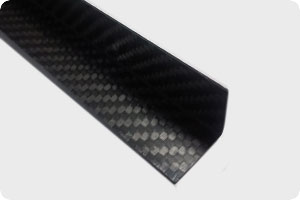 Carbon Fibre 90 Degree Angle