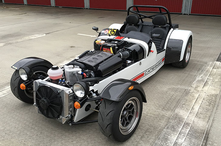 Caterham Carbon Fibre Parts Reverie Ltd