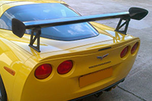 Chevrolet Corvette C6 Z06 (2005 - 2013) Carbon Rear Wing Kit